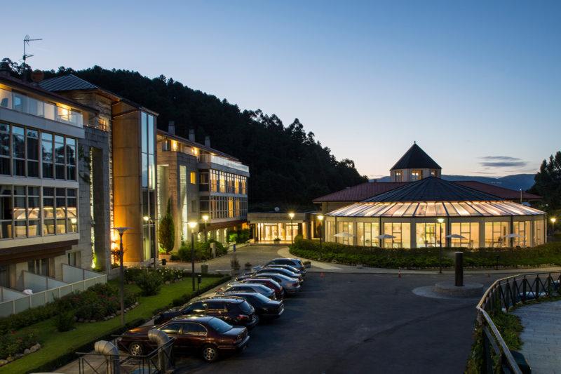 Lobios Entorno Caldaria Hotel Balneario