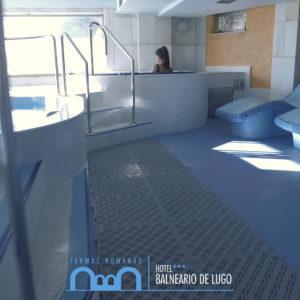 Instalaciones Balneario de Lugo - Termas Romanas