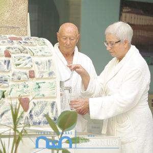 Instalacións Balneario de Lugo - Termas Romanas