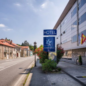 Fachada do Hotel Balneario