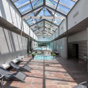 Instalaciones del Balneario de Compostela