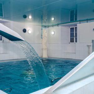Instalacións do Balneario de Lugo