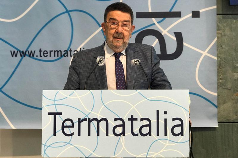 Doutor Juan Gestal Otero, director da Cátedra de Hidroloxía Médica USC-Balnearios de Galicia