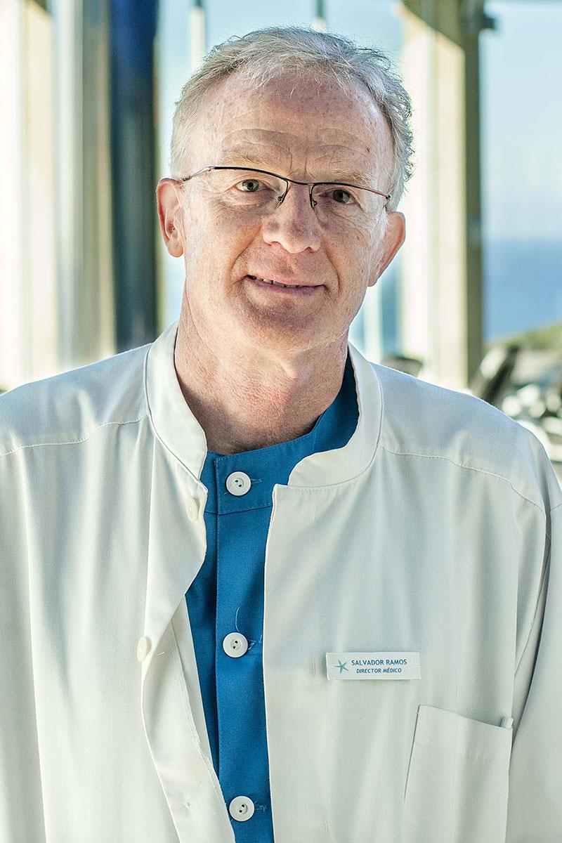 Salvador Ramos, director médico do centro de talasoterapia Talaso Atlántico