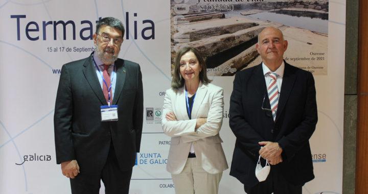 Juan Gestal, Rosa Meijide e Francisco Maraver